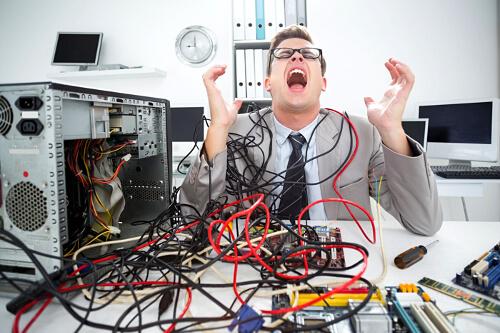 Человек как плохо собранный компьютер